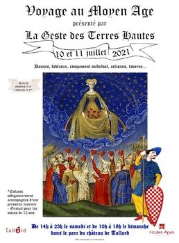 Journées médiévales dans le parc du Château de Tallard