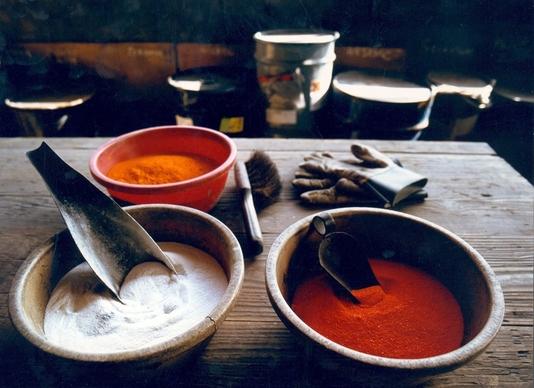 Composants de la pâte