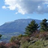 la montagne de Céüse et sa falaise