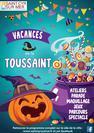 Programme des vacances de la Toussaint