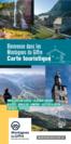 Carte Touristique des Montagnes du Giffre