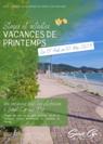 La brochure des stages et activités pendant les vacances de Printemps 2021